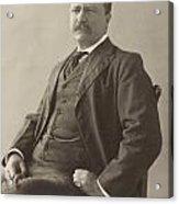 Theodore Roosevelt Acrylic Print