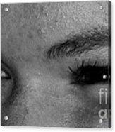 These Eyes Acrylic Print