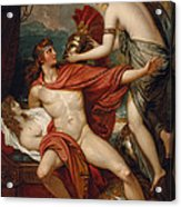 Thetis Bringing The Armor To Achilles Acrylic Print