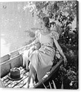 They Call It Sin, Loretta Young, 1932 Acrylic Print