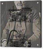Thomas Edison's Phonograph Acrylic Print