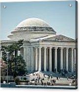 Thomas Jefferson Memorial In Washington Dc Usa Acrylic Print