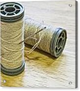 Thread And Needle Acrylic Print