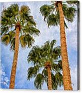 Three Palms Palm Springs Acrylic Print