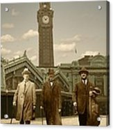 Three Stalwart Gentlemen Acrylic Print