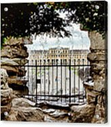 Through The Gate Acrylic Print by Viacheslav Savitskiy