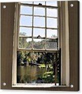 Through The Window Acrylic Print