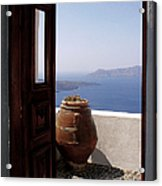 Through This Door Acrylic Print by Julie Palencia