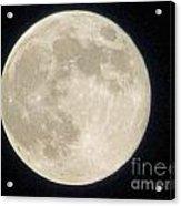 Thunder Moon Acrylic Print
