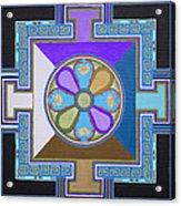 Tibetan Mandala Acrylic Print