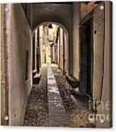 Tight Alley Acrylic Print