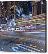 Time Square Acrylic Print