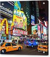 Times Square - New York City Acrylic Print