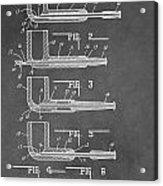 Tobacco Pipe Patent Acrylic Print