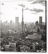Tokyo Tower Square Acrylic Print
