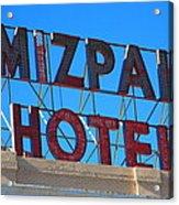 Tonopah Nevada - Mizpah Hotel Acrylic Print