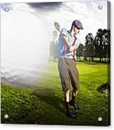 Top Flight Golf Acrylic Print