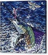 Top Sail Acrylic Print