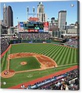 Toronto Blue Jays V. Cleveland Indians Acrylic Print
