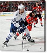 Toronto Maple Leafs V New Jersey Devils Acrylic Print