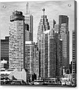 Toronto On Skyline Acrylic Print