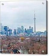 Toronto View Acrylic Print