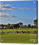 Torrey Pines Golf Course Acrylic Print