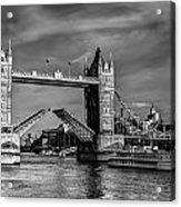 Tower Bridge Vintage Acrylic Print