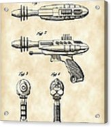 Toy Ray Gun Patent 1952 - Vintage Acrylic Print