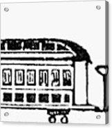Train, 19th Century Acrylic Print
