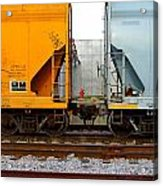 Train Cars 2 Acrylic Print