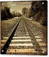 Train Tracks Acrylic Print