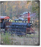 Trains Planes And Automobiles Acrylic Print