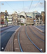 Transport Infrastructure In Amsterdam Acrylic Print