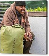 Travelin' Man Acrylic Print