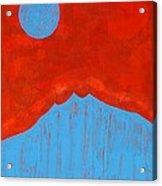 Tres Orejas Original Painting Acrylic Print