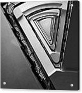 Triangle Staircase Acrylic Print