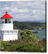 Trinidad Head Light House On The Coast Acrylic Print