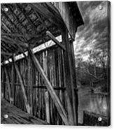 Trinity Road Covered Bridge Acrylic Print