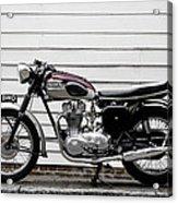 Triumph Trophy Tr6r 1961 Acrylic Print