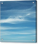 Tropical Ocean And Sky Acrylic Print