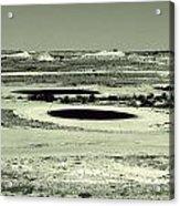 Desert Golf Acrylic Print