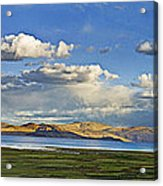 Tsomoriri Lake Leh India Acrylic Print