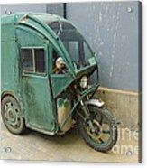 Tuk Tuk 3-wheeled Motorcycle Acrylic Print