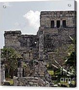 Tulum Ruins Mexico Acrylic Print