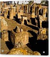 Tunisia. Carthage. Tablets In Tophet - Acrylic Print