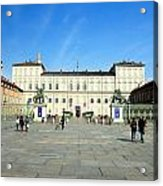 Turin Palazzo Reale Acrylic Print