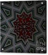Turkish Tile Design Acrylic Print