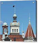 Turrets, Spires & Clock Tower, Historic Acrylic Print
