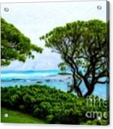 Turtle Bay View Acrylic Print